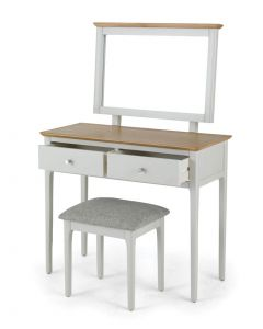 Maddie Painted Ivory Dressing Table Set