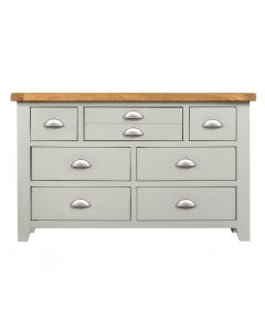 Wexford Grey 3 over 4 Wide Chest