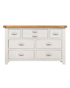 Wexford White 3 over 4 Wide Chest