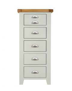 Wexford Grey Slim Chest of Drawers