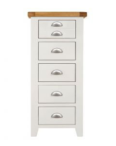Wexford White Slim Chest of Drawers
