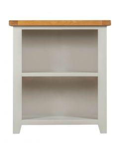 Wexford Grey Low Bookcase
