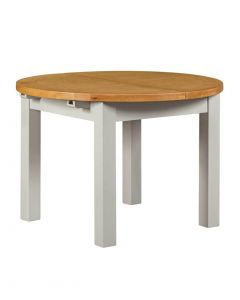 Wexford Grey Round Extending Dining Table